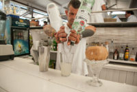 Restaurante Juan y Andrea en Formentera. Cócteles
