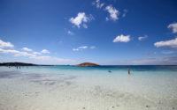 Playa de Illetes en Formentera. Restaurante Juan y Andrea