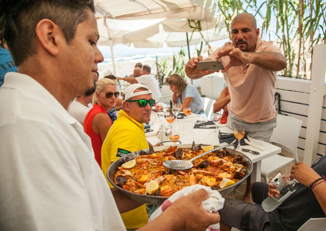Restaurante Juan y Andrea en Formentera. Paellas y arroces