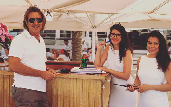 Chiringuito en la playa de Illetes en Formentera. Juan y Andrea, paellas y arroces