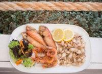 Pescados y mariscos frescos en Restaurante Juan y Andrea. Playa de Illetes