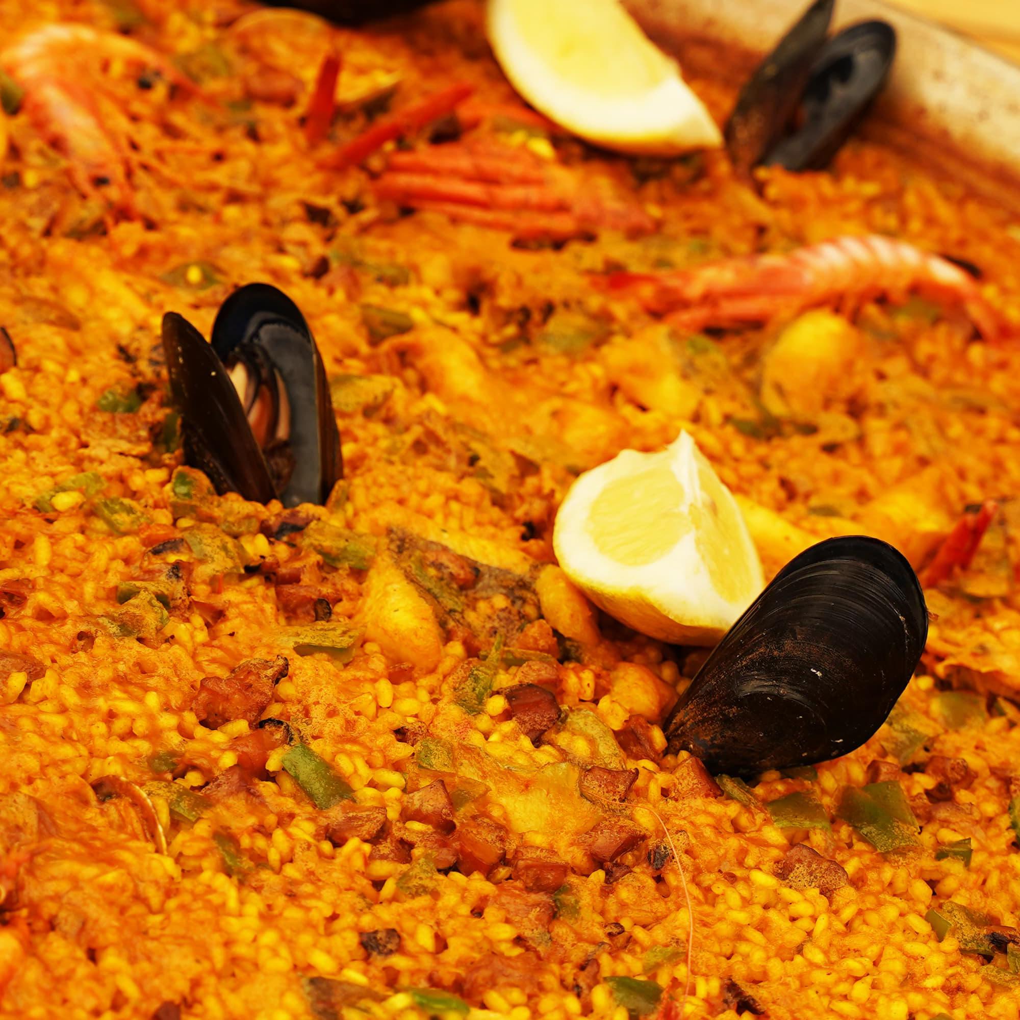 paella- Restaurante Juan y Andrea