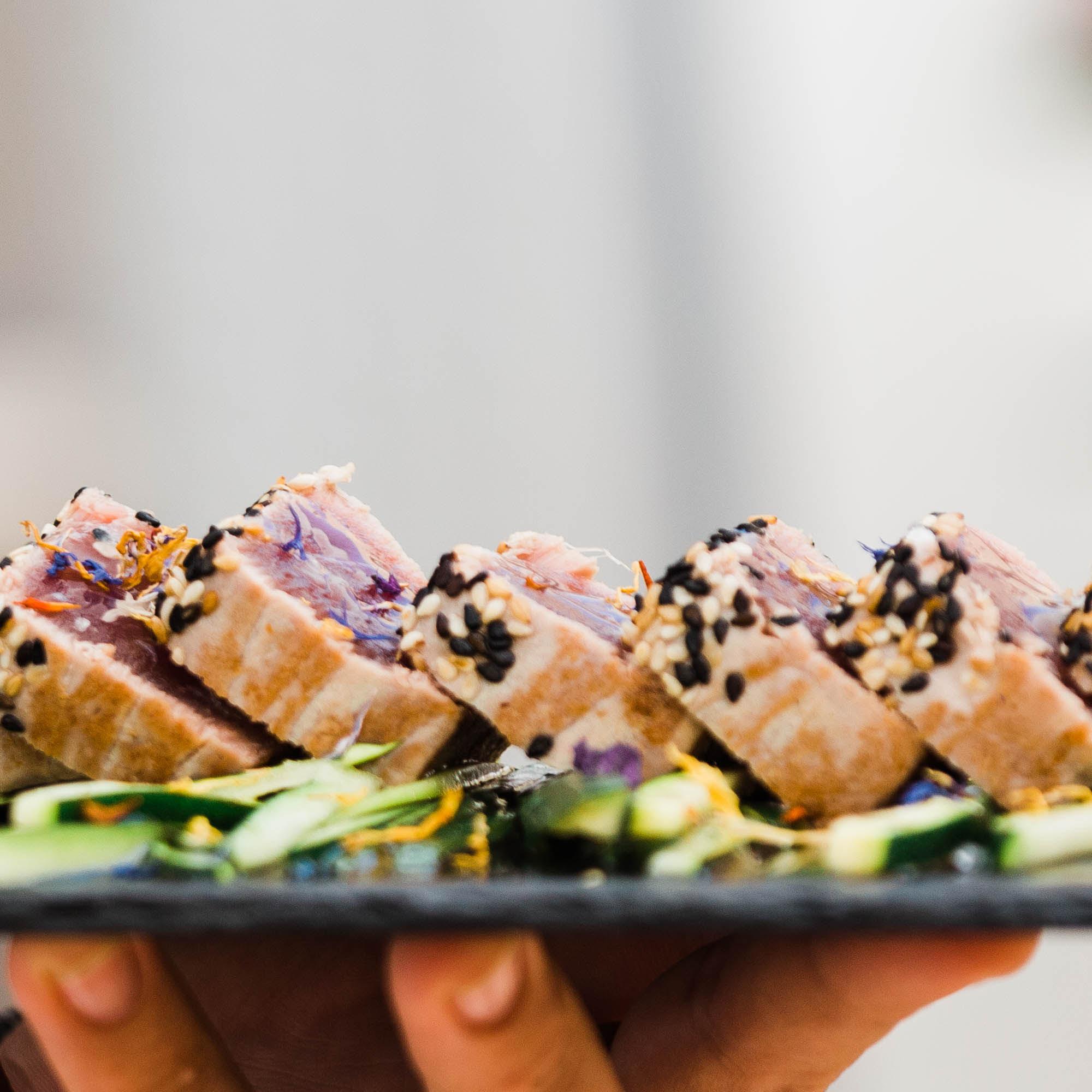 Tataki de atún- Restaurante Juan y Andrea