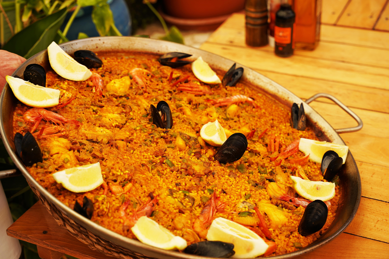 paella típica de Formentera - Restaurante Juan y Andrea